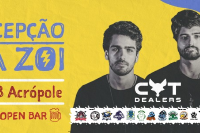 Recepção da Zói - Cat Dealers