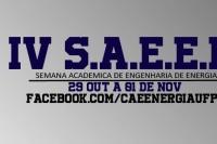 IV SAEEN-Semana Acadêmica De Engenharia De Energia UFPR Palotina
