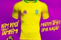 Camisetas Seleção